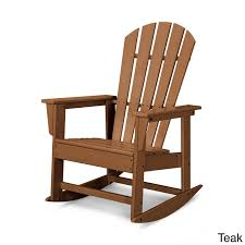 South Beach Rocker (Teak), Brown, Size Single, Patio ... Snowshoe Oak Rocking Chair With Rawhide Lacing By Vermont Tubbs Slat Hardwood Magnificent Collections Chairs Walmart With 19th Century Vintage Carved Wood Swan Rocker Team Color Georgia Modern Contemporary Black Porch Rockers Adaziaireclub How To Choose Your Outdoor 24 Tips And Ideas Farmhouse Rustic Fniture Birch Lane Toddler Americana Used For Sale Chairish 1980s Martin Macarthur Curly Koa Slatback Shine Company White Mi