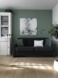 15 galerie wohnzimmer deko flieder wandfarbe grün
