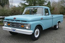 100 1964 Ford Truck No Reserve F100 Custom Cab 4Speed For Sale On BaT