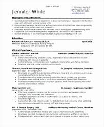 Labor And Delivery Nurse Resume From Sample