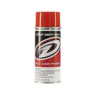 Duratrax Polycarb Rc Vehicle Body Spray Paint - Orange 4.5oz