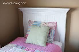 Ana White Upholstered Headboard by Ana White Twin Bed Beadboard Headboard Diy Projects