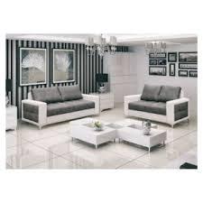 canapé chloé design canapé 3 2 design gris et blanc 210cm x 94cm x