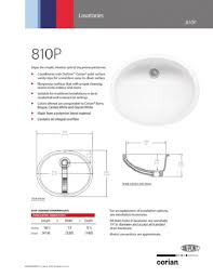 Installing Sink Strainer In Corian by Corian Sinks Cleaning Kitchen With Lshaped Cu Ft Electric With