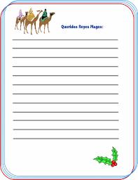 Cómo Hacer Una Carta De Reyes Magos Para Niños