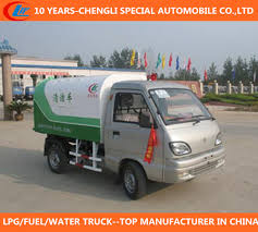 China 4X2 Small Rubbish Truck Mini Garbage Truck Changan Garbage ...