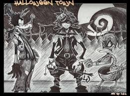 Halloween Town Characters by Kingdom Hearts Halloween Town By Lil Lulu On Deviantart