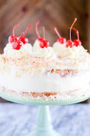 Pina Colada Birthday Cake Something Swanky