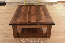 rustic coffee tables reclaimed wood coffee tables