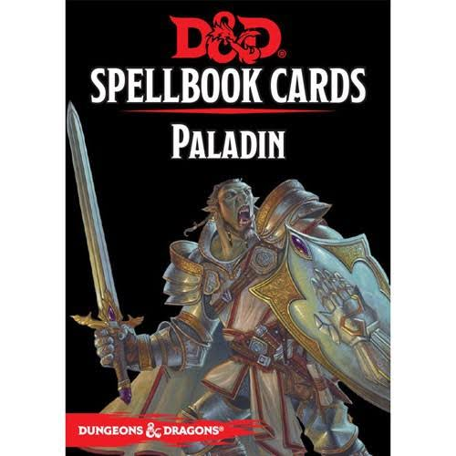 Dungeons and Dragons: Paladin Spell Deck Card Game - 69ct