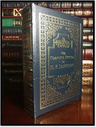 This Is A Brand New Sealed In Shrink Wrap Easton Press Edition Of The Complete Fiction HP Lovecraft