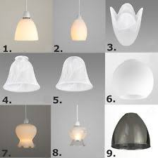 glass light shades ebay
