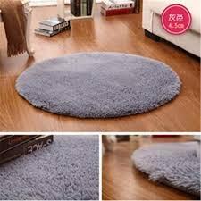anti rutsch kunstfell bereich teppich big rund boden