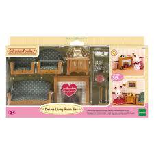 puppen zubehör sylvanian families luxus wohnzimmer neu