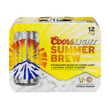 Coors Light Summer Brew Citrus Radler
