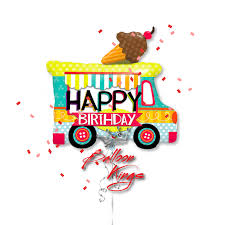100 Ice Cream Truck Products Happy Birthday Balloon Kings