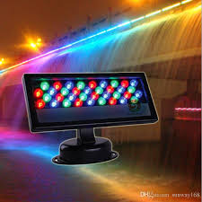 36 3w led wall washer waterproof led floodlight rgb stage light