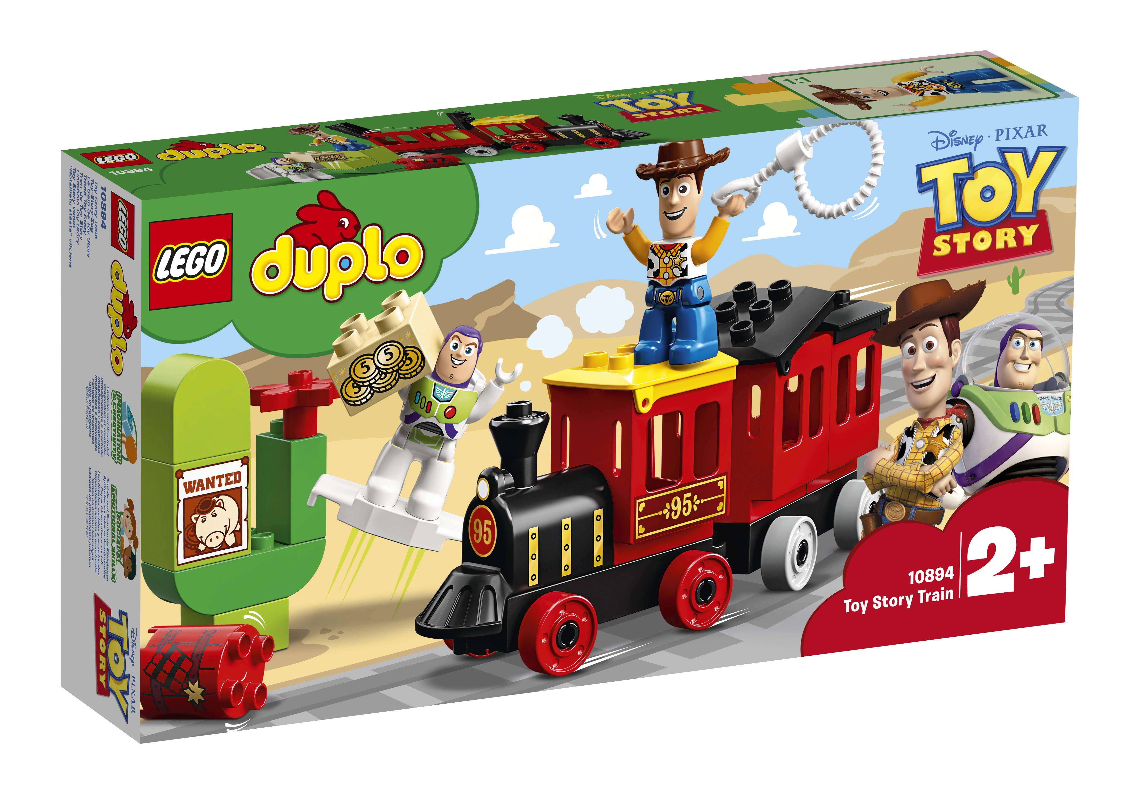 Lego Duplo Toy Story Train Play Set