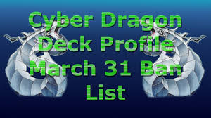 Best Cyber Dragon Deck Profile by 60 Card Cyber Dragon Deck Profile March 31st Ban List 2017 Youtube