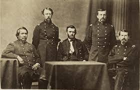 General Ulysses S Grant And Staff