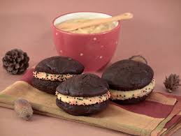Pumpkin Whoopie Pies Gluten Free by Chocolate Whoopie Pies With Pumpkin Cream Cheese Frosting Eat