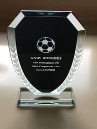 100 Andy Rodgers Honoured East Stirlingshire FC