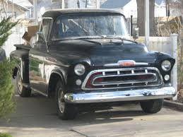 File:1957 Chevrolet Truck (2462441869).jpg - Wikimedia Commons 1957 Chevrolet Pick Up Truck 3100 Pickup Snow White Street The Grand Creative Rides For Sale 98011 Mcg A Pastakingly Restored Is On Display At Rk Motors Near O Fallon Illinois 62269 Cameo 283 V8 4 Bbl Fourspeed Youtube 2000515 Hemmings Motor News Flatbed Truck Item Da5535 Sold May 10 Ve Oneofakind With 650 Hp Heads To Auction Bogis Garage Cadillac Michigan 49601