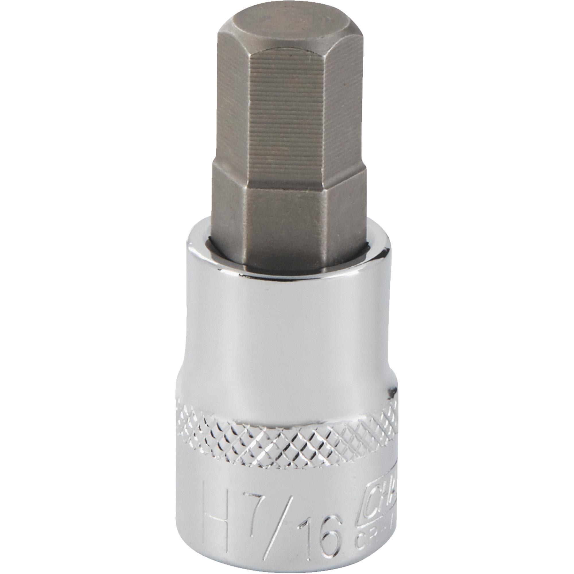 Channellock Hex Bit Socket - 7/16""