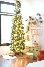 Unlit Artificial Christmas Trees Walmart by Thin Christmas Trees Argos Slim Christmas Tree Walmart Pencil