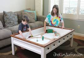 Kid Friendly Coffee Table