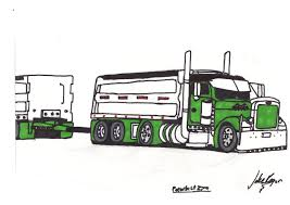 Peterbilt Dump Truck Coloured By JakeRogers On DeviantArt How To Draw Dump Truck Coloring Pages Kids Learn Colors For With To A Art For Hub Trucks Boys Make A Cake Hand Illustration Royalty Free Cliparts Vectors Printable Haulware Operations Drawing Download Clip And Color Page Online
