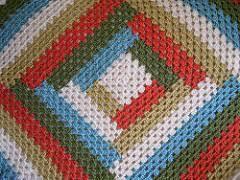 Ravelry Granny s Baby Log Cabin Blanket pattern by Deborah Ellis