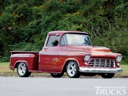 Pin By Muscle Car Definition On American Trucks | Pinterest | Chevy ... 1955 Chevy Stepside Lingenfelters 21st Century Classic Truckin Chevy Truck Second Series Chevygmc Pickup Truck 55 Restoration Project Is Half Way Donemayb Flickr 3100 Big Red With Custom Suspension Large Rear Window Other Chevrolet Restore A Muscle Car Llc The 471955 Driven Outrageous Hot Rod Network Chevrolet Cameo Pickup Hotrod Pictures Autocars Tci Eeering 51959 Suspension 4link Leaf