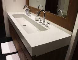 bathroom sink with 2 faucets forest focus