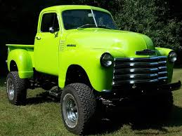 1953 Chevy 4x4 Truck Badass Truck Big Green Truck | Trucks ...