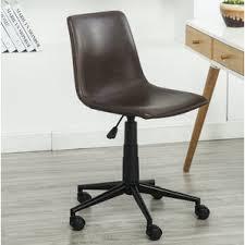 Wayfair Swivel Desk Chair by Faux Fur Office Chair Wayfair