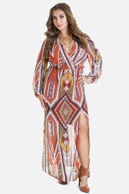 plus size jadine printed chiffon maxi dress fashion to figure