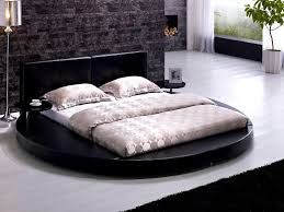 apartments outstanding round platform bed frame near white