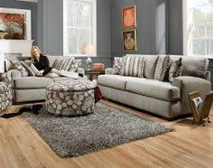 American Freight Sofa Sets by Greenvale Traditional Stationary Sofa With Rolled Arms And Bun