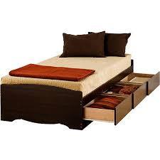 Edenvale Twin XL 3 Drawer Platform Storage Bed Espresso Walmart