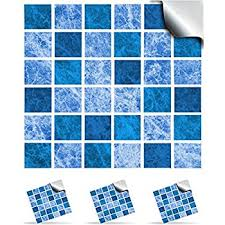 bluelans 45cm x 100cm self adhesive mosaic wall tile decals wall
