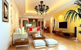 awesome yellow teal living room interior decorating ideas with