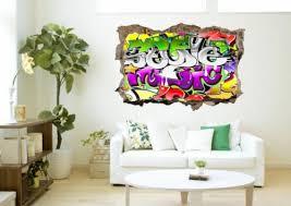 graffiti sprayer wall wall sticker wall sticker