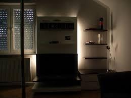tv schrank lowboard mit hintergrundbeleuchtung