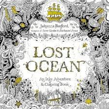 A Beautiful New Colouring Book That Takes You On Magical Journey Beneath The Waves From Creator Of Worldwide Bestsellers Secret Garden And