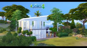 the sims speed build maison bord de mer 02