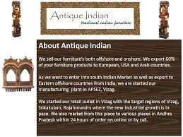 Antique Indian Furniture Indian antique furniture is among the