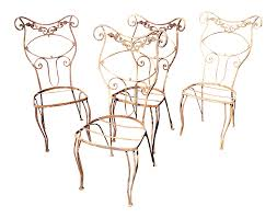 1920s French Wrought Iron Garden Chairs - Set Of 4 65 Best Front Yard And Backyard Landscaping Ideas Designs Lets Do Whimsical Outdoor Ding Making It Lovely A Romantic Garden Wedding Every Last Detail Stevenson Manor Upholstered Side Chair With Turned Legs By Standard Fniture At Household Club Pair Vintage Rebar Custom Painted Vegetable Back Bistro Chairs 25 Patio To Buy Right Now Carate Batik Lagoon Rounded Corners Cushion Blue 6 Montage Antiques Display Of Counter Stool Jugglingelephants