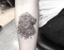 Lion Tattoo On Forearm By Doctor Woo
