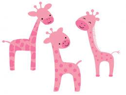 girly giraffe clipart Work Reference Safari